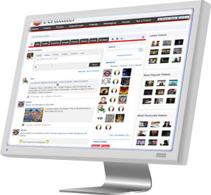 Social multimedia site